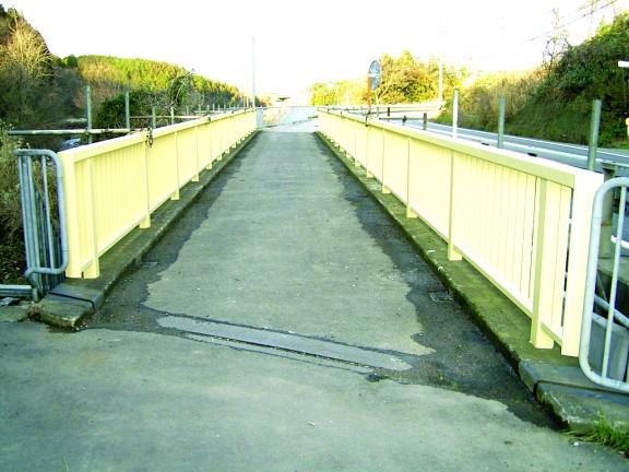 8号笹岡橋他1橋塗装工事