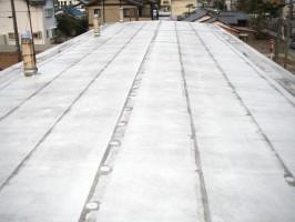 明里団地簡二屋根防水改善工事