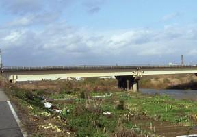 8号足羽川橋塗装工事施工前
