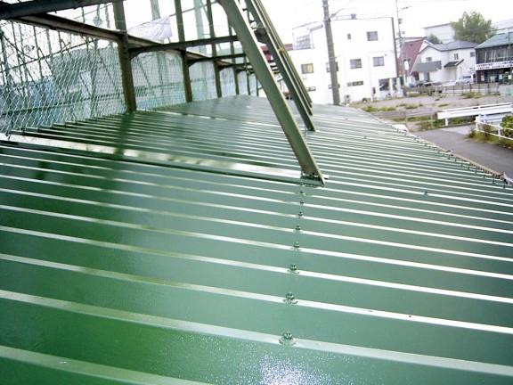H施設屋根塗装工事