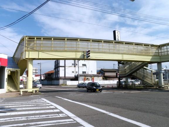 幾久交番歩道橋