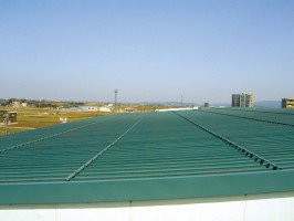 F工場屋根塗装工事