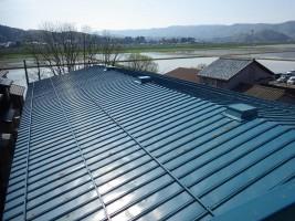 A倉庫 屋根塗装工事