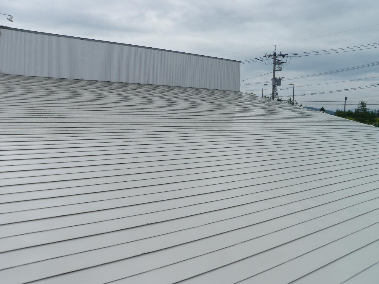 Z店舗 屋根塗装工事