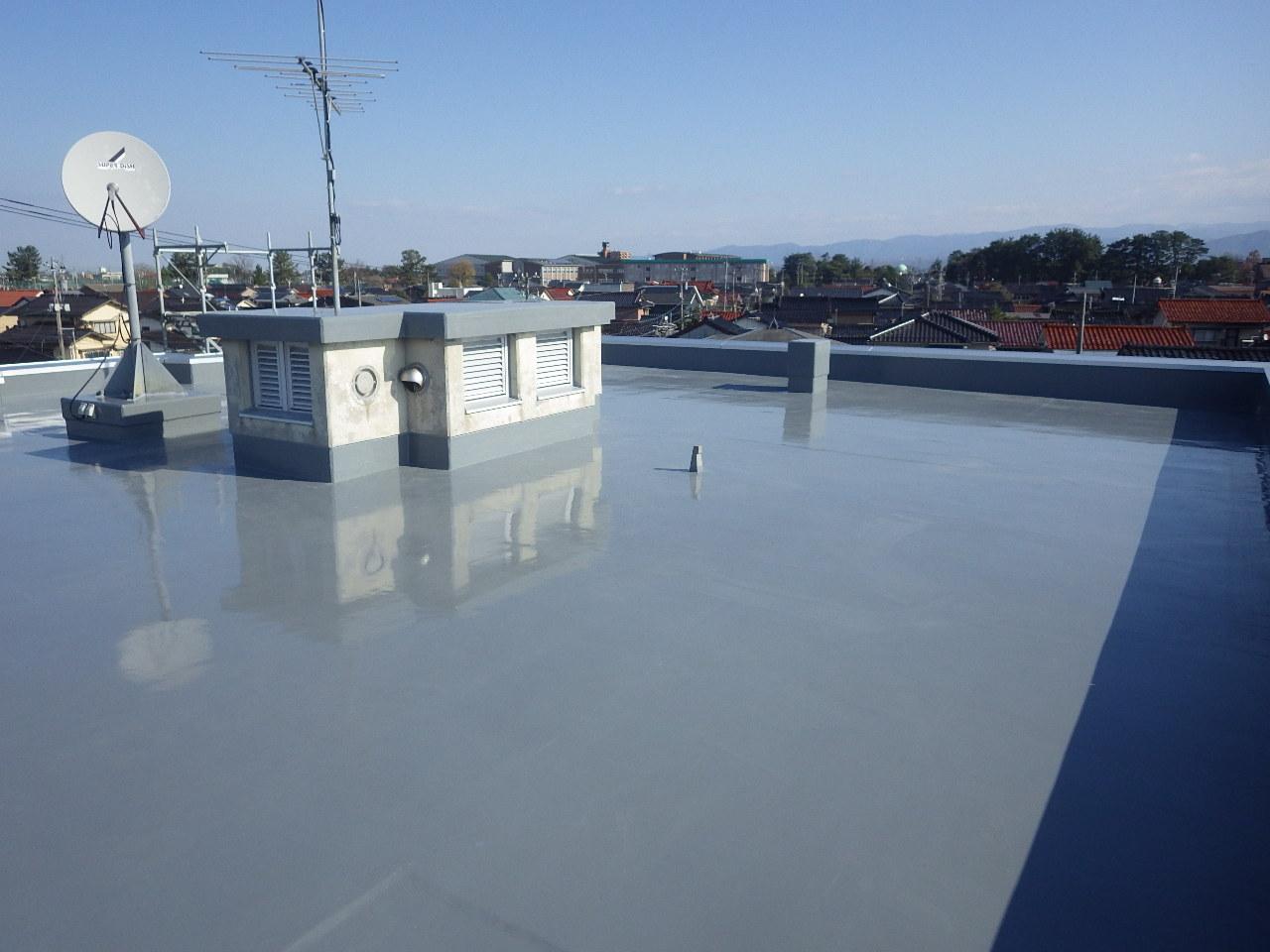 小松丸の内社宅屋上防水改修工事
