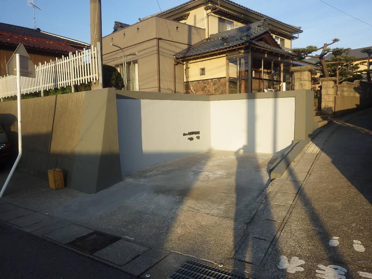 D様邸車庫解体工事
